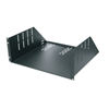 2 pack of 4U vented rack shelves