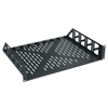 2 space vented rack shelf