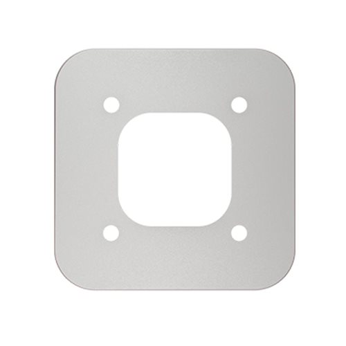 LuxePort wall adaptor kit silver